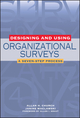 Designing and Using Organizational Surveys: A Seven-Step Process (0787956775) cover image