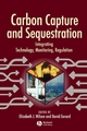 Carbon Capture and Sequestration: Integrating Technology, Monitoring, Regulation (0813802075) cover image