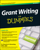 Grant Writing For Dummies, 4th Edition (1118013875) cover image