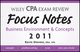 Wiley CPA Examination Review Focus Notes: Business Environment and Concepts 2011 (1118034775) cover image