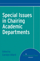 Special Issues in Chairing Academic Departments (1118196775) cover image