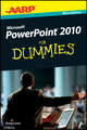 AARP PowerPoint 2010 For Dummies, Mini Edition (1118241975) cover image