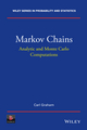 Markov Chains: Analytic and Monte Carlo Computations (1118517075) cover image