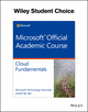 Exam 98-369 MTA Cloud Fundamentals (1119239575) cover image