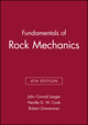 Fundamentals of Rock Mechanics, Instructor's Manual and CD-ROM, 4th Edition (1405176075) cover image
