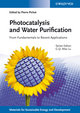Photocatalysis and Water Purification: From Fundamentals to Recent Applications (3527331875) cover image