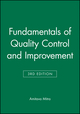 Fundamentals of Quality Control and Improvement, Set, 3rd Edition (0470345276) cover image