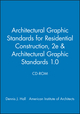 Architectural Graphic Standards for Residential Construction, 2e & Architectural Graphic Standards 1.0 CD-ROM (0470621176) cover image
