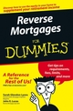 Reverse Mortgages For Dummies (0471754676) cover image