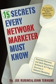 15 Secrets Every Network Marketer Must Know: Essential Elements and Skills Required to Achieve 6- and 7-Figure Success in Network Marketing (0471773476) cover image