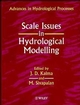 Scale Issues in Hydrological Modelling (0471958476) cover image