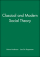 Classical and Modern Social Theory (0631212876) cover image
