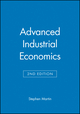 Advanced Industrial Economics, 2nd Edition (0631217576) cover image