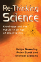 Re-Thinking Science: Knowledge and the Public in an Age of Uncertainty (0745626076) cover image