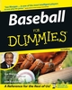 Baseball For Dummies, 3rd Edition (0764575376) cover image