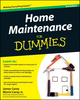 Home Maintenance For Dummies, 2nd Edition (1118052676) cover image