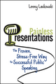 Painless Presentations: The Proven, Stress-Free Way to Successful Public Speaking (1118361776) cover image