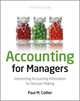 Accounting For Managers: Interpreting Accounting Information for Decision-Making, 4th Edition (1119979676) cover image