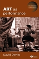 Art as Performance (1405116676) cover image