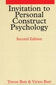Invitation to Personal Construct Psychology, 2nd Edition (1861563876) cover image
