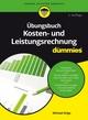 Übungsbuch Kosten- und Leistungsrechnung für Dummies, 2. Auflage (3527810676) cover image