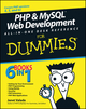 PHP and MySQL Web Development All-in-One Desk Reference For Dummies (0470167777) cover image