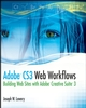 Adobe CS3 Web Workflows: Building Websites with Adobe Creative Suite 3 (0470261277) cover image