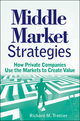 Middle Market Strategies: How Private Companies Use the Markets to Create Value (0470464577) cover image
