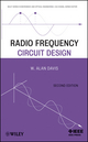 Radio Frequency Circuit Design, 2nd Edition (0470575077) cover image