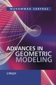 Advances in Geometric Modeling (0470859377) cover image