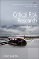 Critical Risk Research: Practices, Politics and Ethics (0470974877) cover image
