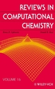 Reviews in Computational Chemistry, Volume 16 (0471386677) cover image