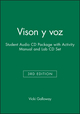 Vison y voz, 3e Student Audio CD Package with Activity Manual and Lab CD Set (0471650277) cover image