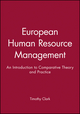 European Human Resource Management: An Introduction to Comparative Theory and Practice (0631193677) cover image