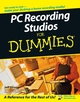 PC Recording Studios For Dummies (0764577077) cover image