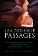 Leadership Passages: The Personal and Professional Transitions That Make or Break a Leader (0787974277) cover image