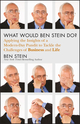 What Would Ben Stein Do?: Applying the Wisdom of a Modern-Day Prophet to Tackle the Challenges of Work and Life (1118038177) cover image