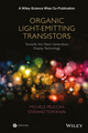 Organic Light-Emitting Transistors: Towards the Next Generation Display Technology (1118100077) cover image