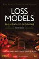 Loss Models: From Data to Decisions, 4e + Solutions Manual Set (1118493877) cover image
