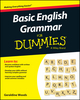 Basic English Grammar For Dummies - US, US Edition (1119063477) cover image