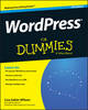 WordPress For Dummies, 7th Edition (1119088577) cover image