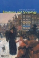 Emotions and Sociology (1405105577) cover image