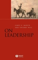On Leadership (1405132477) cover image