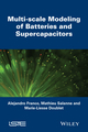 Multi-scale Modeling of Batteries and Supercapacitors (1848217277) cover image