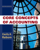 Core Concepts of Accounting, 2nd Edition (0470499478) cover image