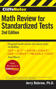 CliffsNotes Math Review for Standardized Tests, 2nd Edition (0470500778) cover image
