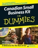 Canadian Small Business Kit For Dummies, 2nd Edition (0470679778) cover image
