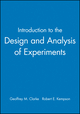Introduction to the Design and Analysis of Experiments (0470711078) cover image