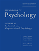 Handbook of Psychology, Volume 12, Industrial and Organizational Psychology, 2nd Edition (0470768878) cover image
