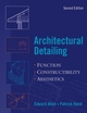 Architectural Detailing: Function - Constructibility - Aesthetics, 2nd Edition (0471488178) cover image